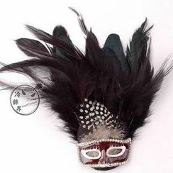 Trend Cool - Party Mask Brooch