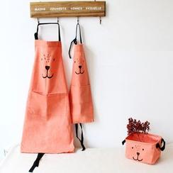 Gukan - 动物印花围裙