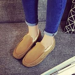 Solejoy - Fleece-Lining Moccasins