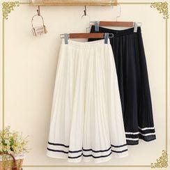 Fairyland - Pleated Midi Skirt