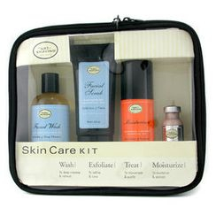 The Art Of Shaving - Skincare Kit (For Sensitive Skin): Facial Wash + Facial Scrub + Moisturizer + After Shave Mask