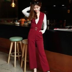 Romantica - Buckled Jumpsuit