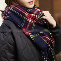 FROME - Plaid Scarf
