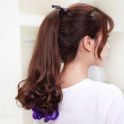 LUMAN - Ponytail - Highlighted Curly