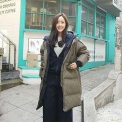 Envy Look - Hooded Long Padded Coat