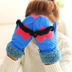 Fancy Mansion - Moustache Pattern Gloves