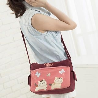 KIROCAT - Cat-Accent Cotton Cross Bag