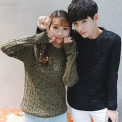 Simpair - Mélange Couple Matching Sweater