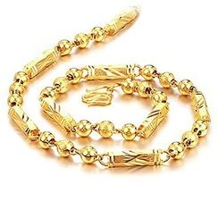 Creole - 18K Gold Plated Necklace