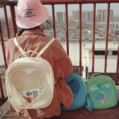 Bolso - Transparent Zip Backpack