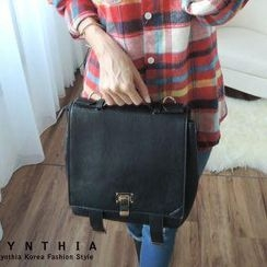 CYNTHIA - Faux-Leather Backpack