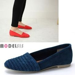 MODELSIS - Genuine Leather Flats