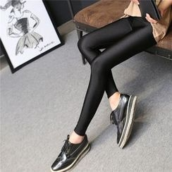 Meigo - Fleece Lined Glitter Leggings