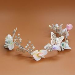 constello - Butterfly Bridal Headpiece