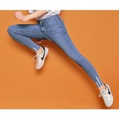 HOTPING - Distressed Skinny Jeans