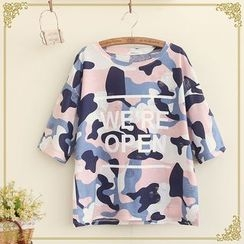 Fairyland - Camouflage Short-Sleeve T-Shirt