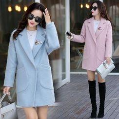 AiSun - Long Woolen Coat