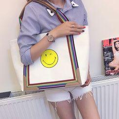 Secret Garden - 笑脸印花手提袋