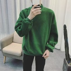 Chuoku - Mock-neck Sweatshirt