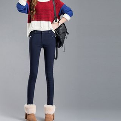 Coolvibe - Fleece-Lined Skinny Pants