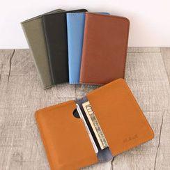 MR.BLUE - Genuine Leather Card Holder