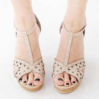MASoeur - Cut-Out Strap Sandals