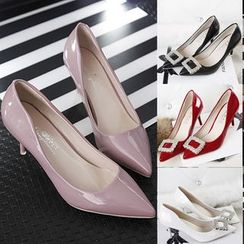 IYATO - Pointy-Toe High-Heel Pumps
