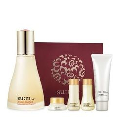 su:m37 - Secret Essence Special Set: Essence 80ml + Eye Cream 5ml + Time Energy Toner 20ml + Emulsion 20ml + Skin Saver Essential Cleansing Foam 40ml