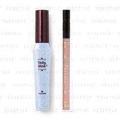 Koji - Dolly Wink Liquld Eyelier + Mascara (Black) (Limited Edition)