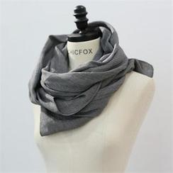 CHICFOX - 長款棉質圍巾
