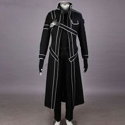 Kazuto - Sword Art Online Kirito Cosplay Costume