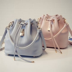 Nautilus Bags - Faux Leather Bucket Bag