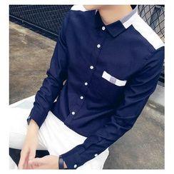 Fisen - Color Block Shirt