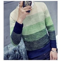 Fisen - Color Block Sweater
