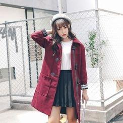 Sienne - Wool Toggle Coat
