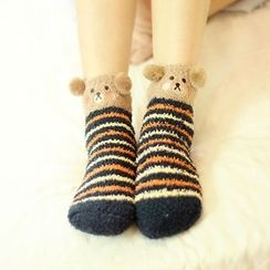 Socka - Printed Velvet Socks
