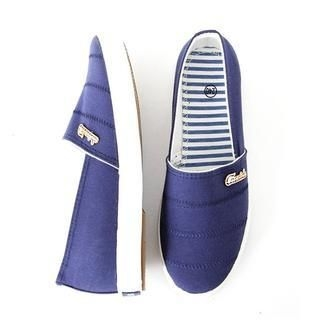 D.P-Shop - Metal-Trim Slip-Ons
