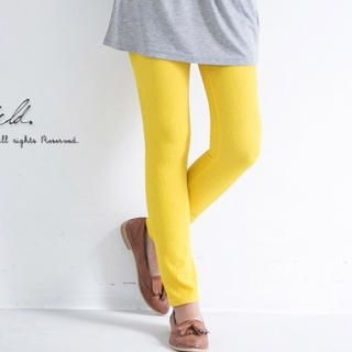 CatWorld - Elastic-Waist Shirred Leggings