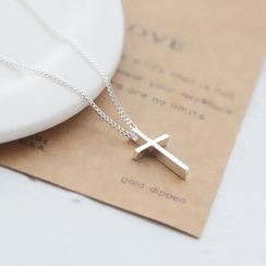 Love Generation - Sterling Silver Cross Necklace