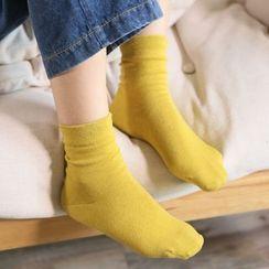 櫻桃兔兔 - 純色襪
