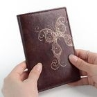 BABOSARANG - Butterfly Engraved Passport Holder