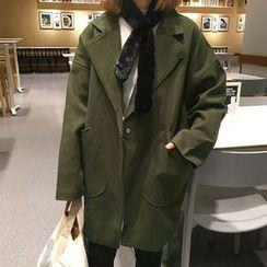 Cloud Nine - Oversized Wool Blend Coat