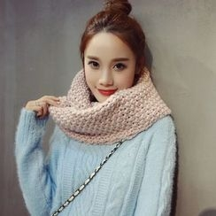 Snow Sheep - Chunky Knit Scarf