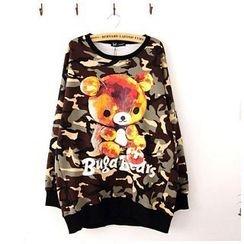 Maymaylu Dreams - 刷毛上衣。超Q可爱熊熊T恤