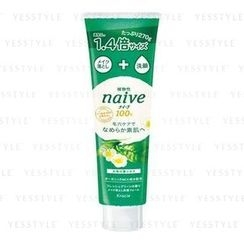 Kracie - Naïve Makeup Cleansing Facial Foam (Tea Leaf)