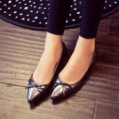 Pangmama - Pointy Bow-Accent Flats