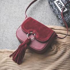 Q.BAISE - Tasseled Crossbody Bag
