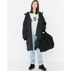 Someday, if - Hooded Long Padded Coat