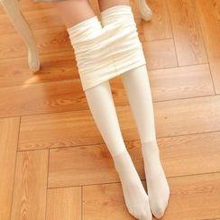 DORRIE - Plain Tights/ Stirrup Leggings