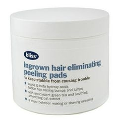 Bliss - Ingrown Hair Eliminating Peeling Pads